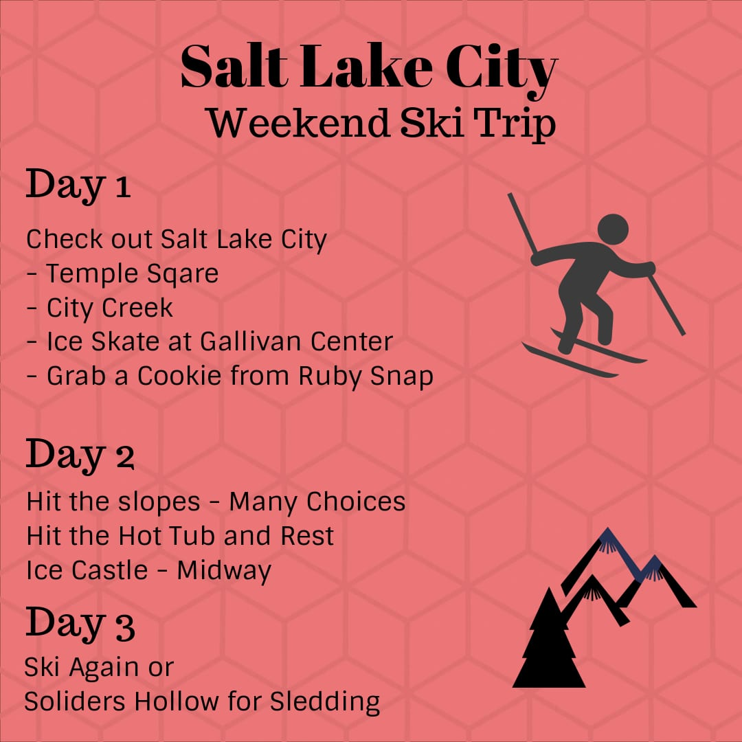 Salt Lake City Itinerary