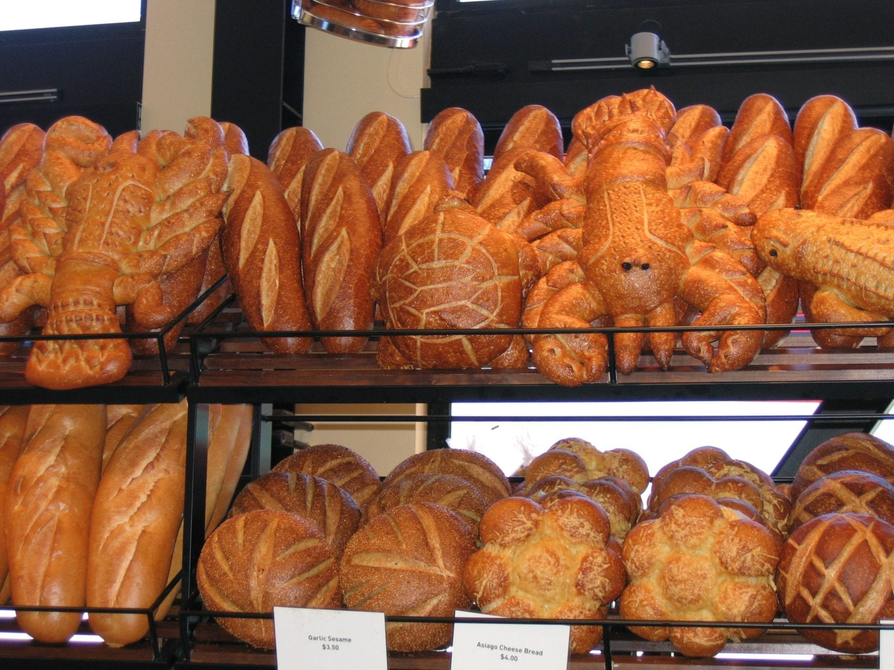 Bread at Boudin