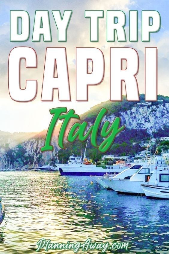 Day in Capri Pin for Pinterest