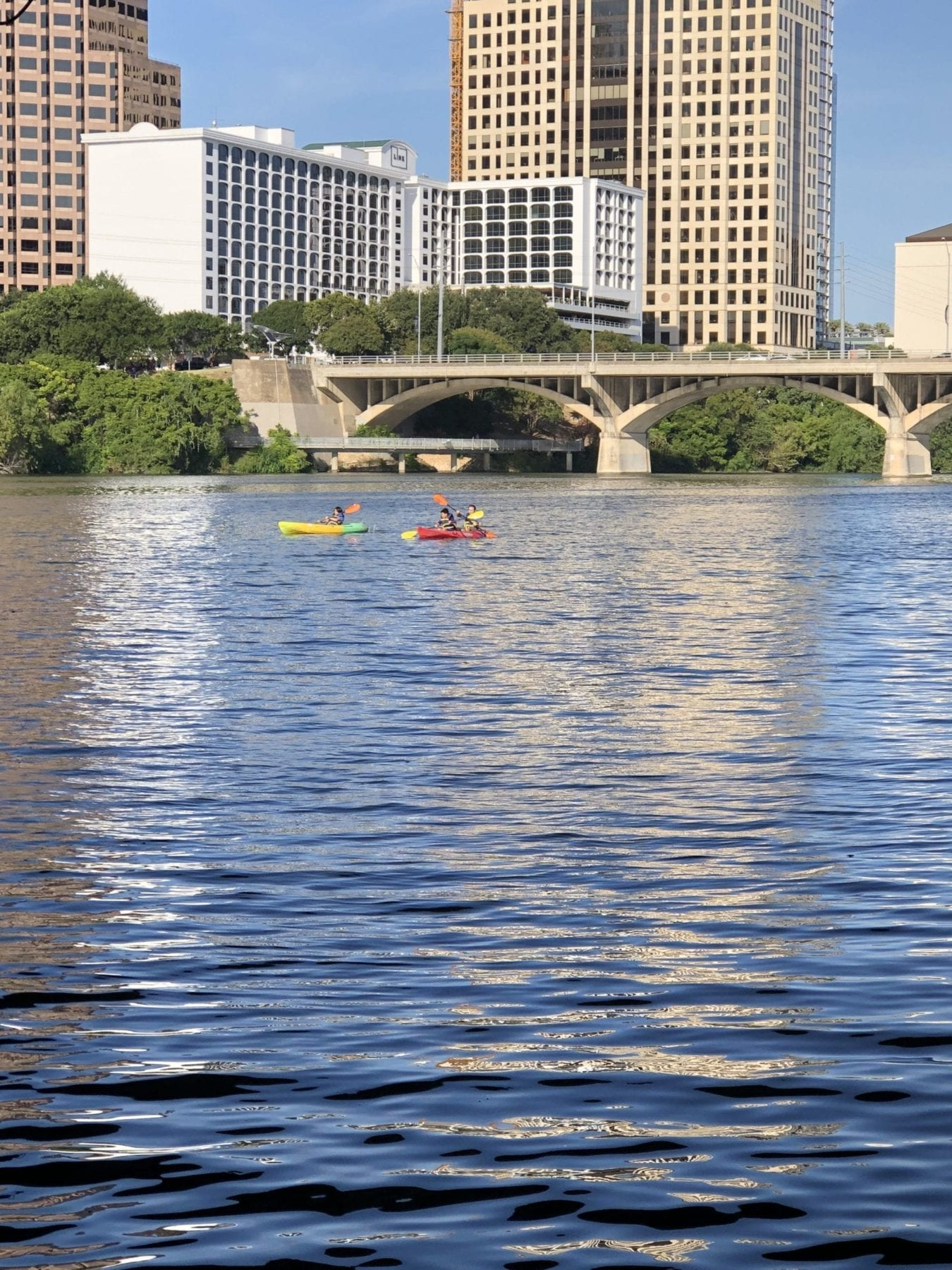 congress bridge and lady bird lake
