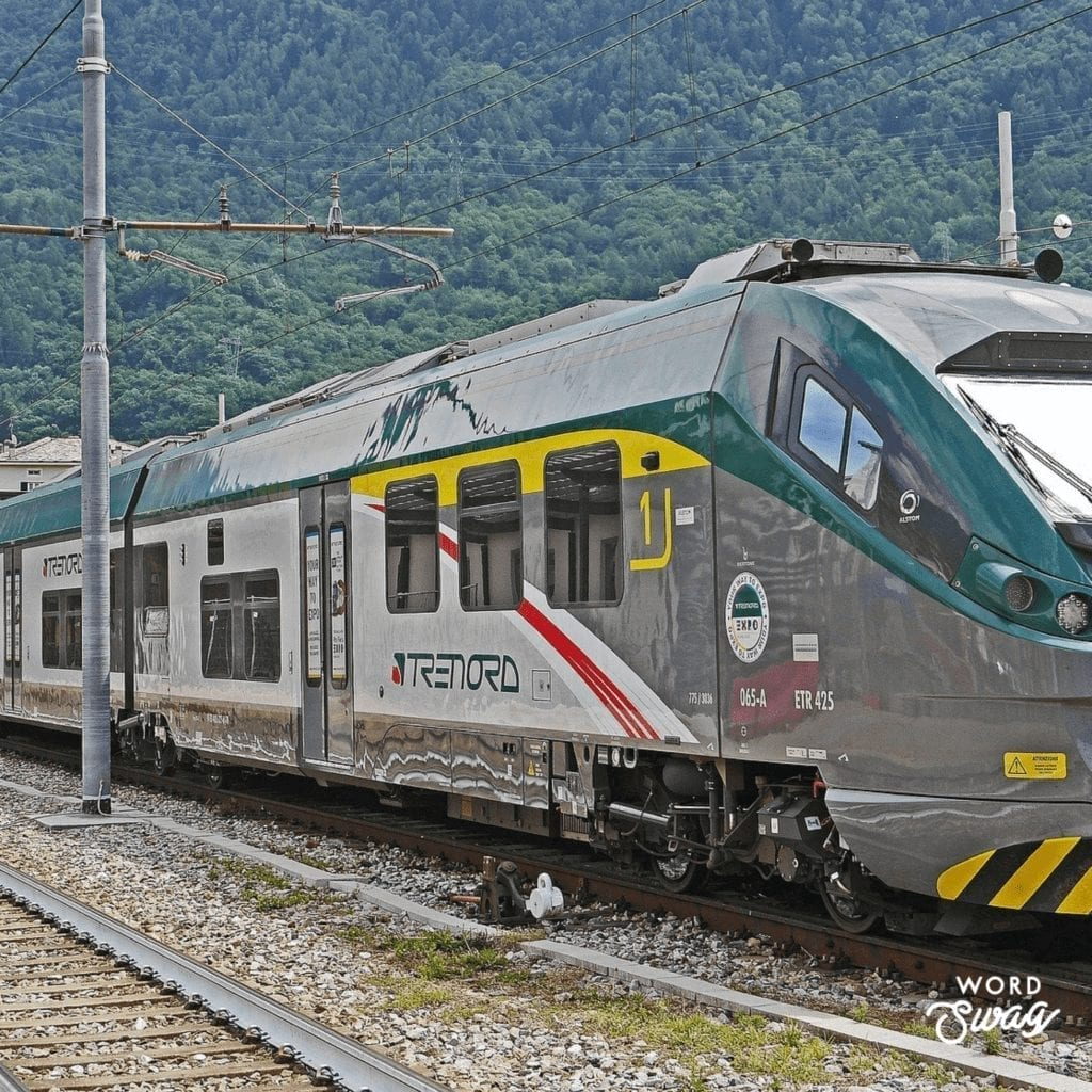 Train from Florence to Pisa