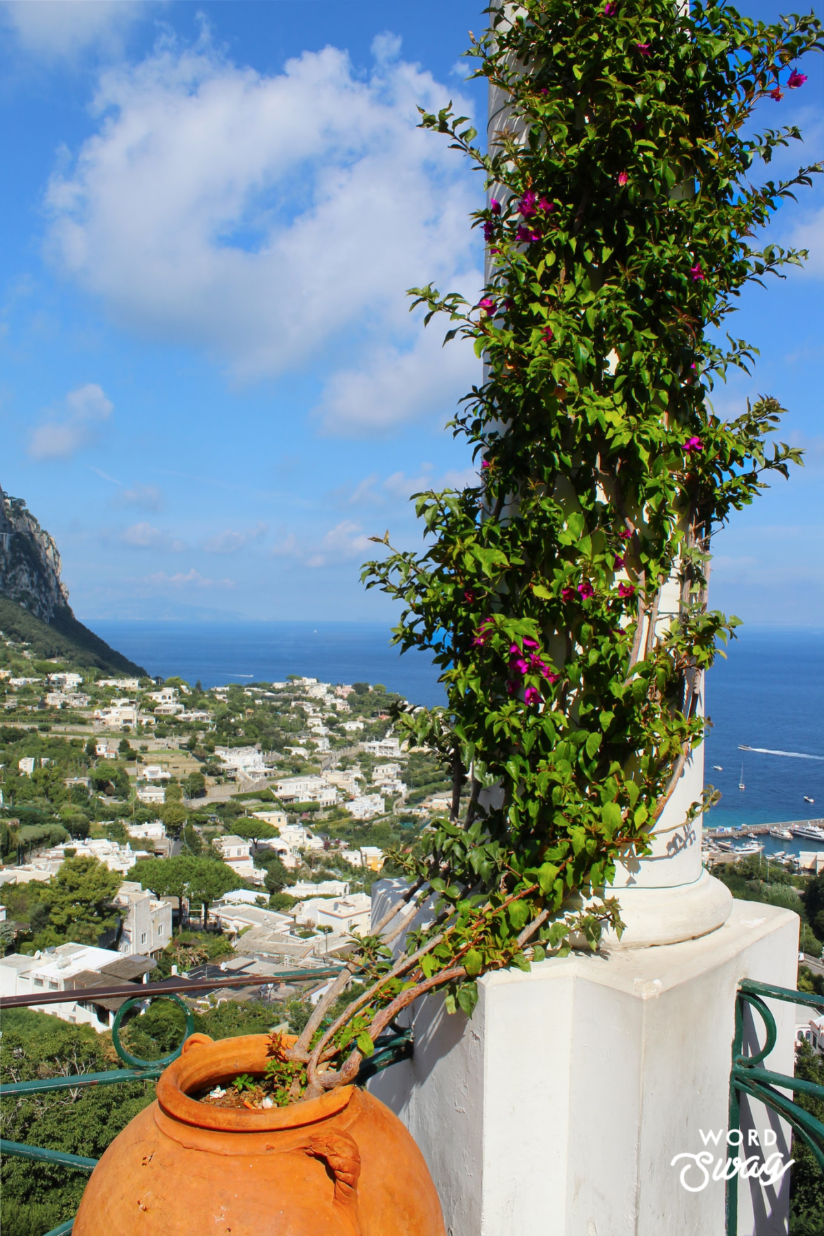 day trip to Capri Italy