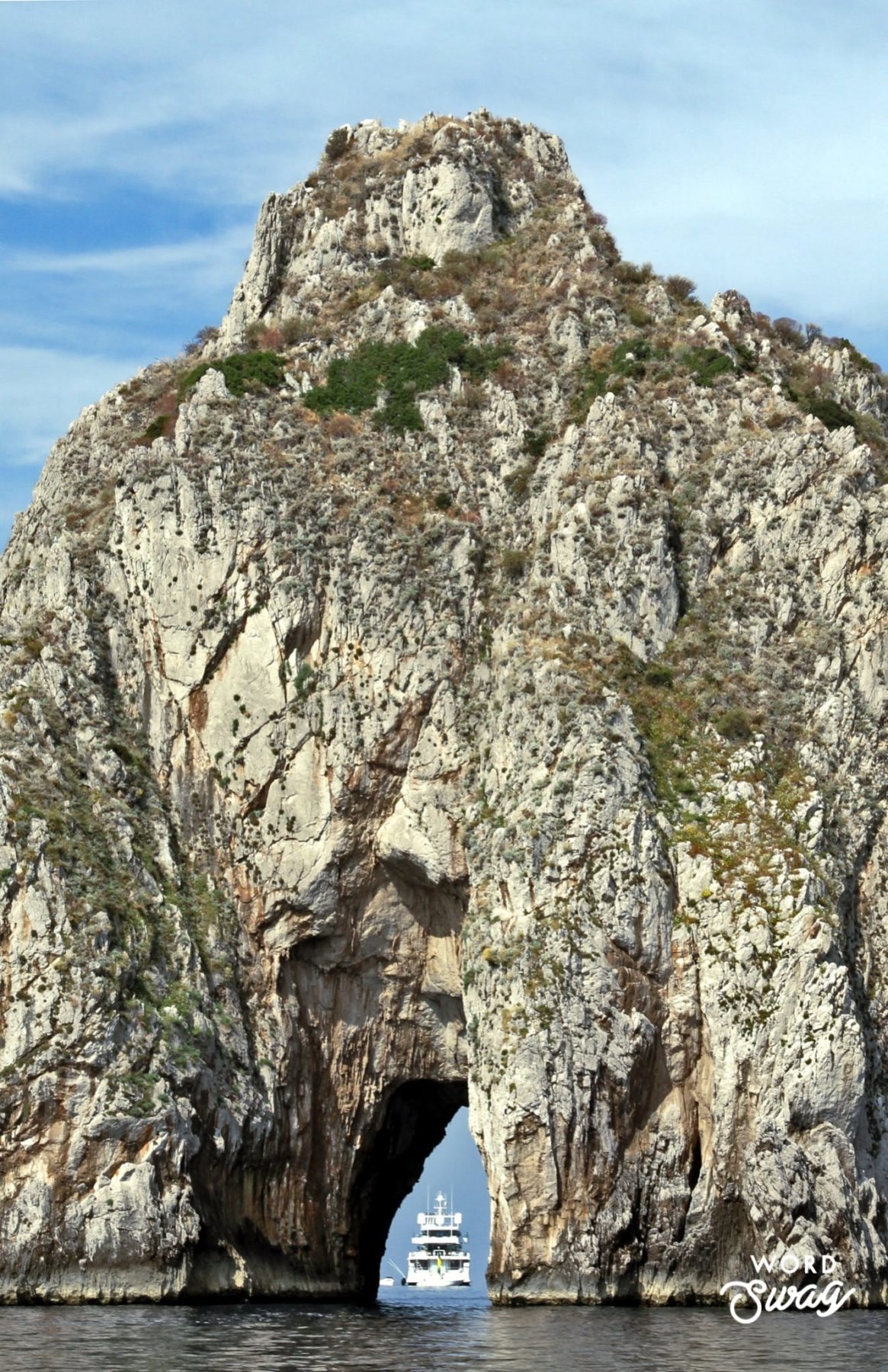 Caves in Capri