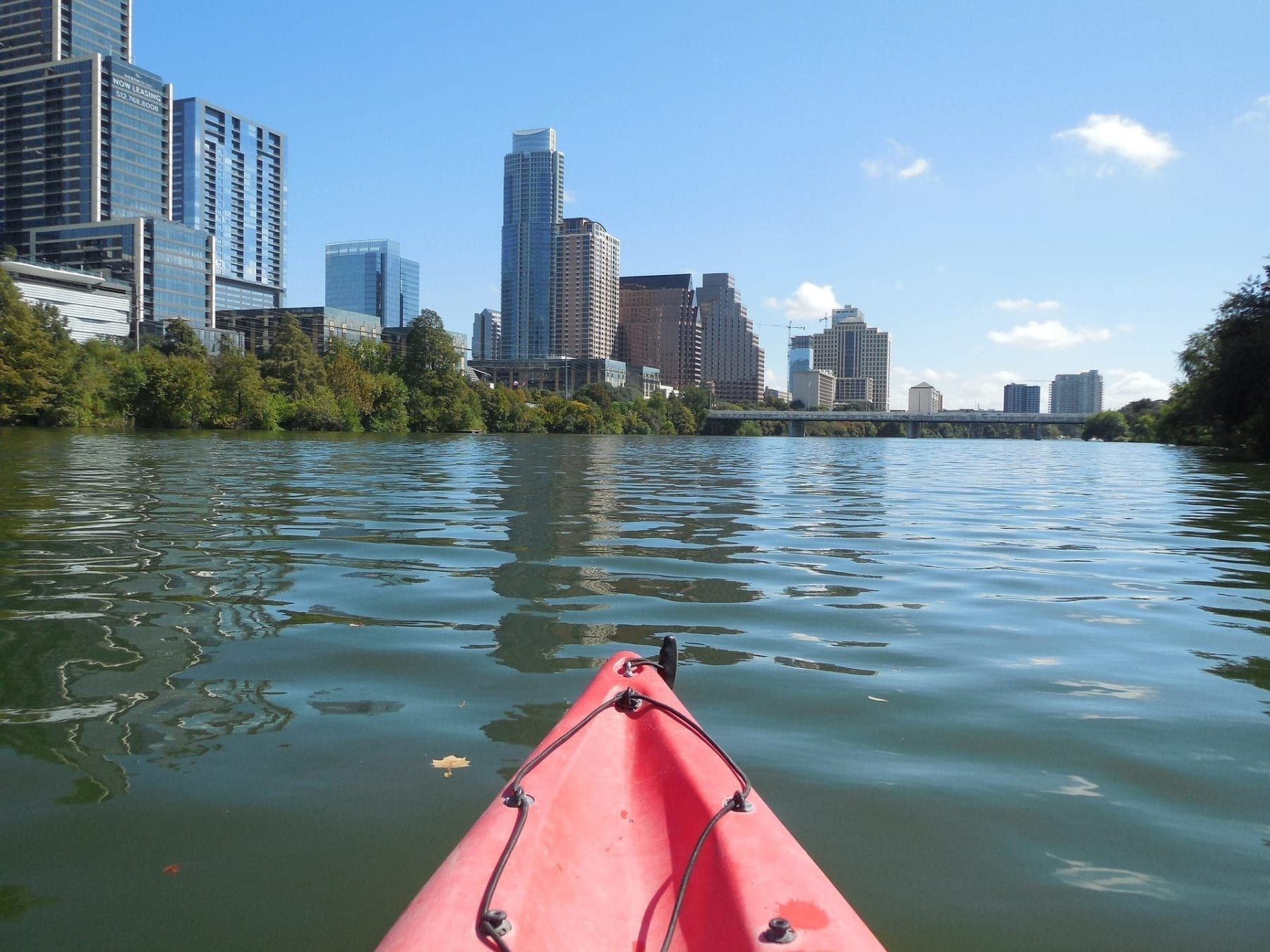 Kayaking in Austin, Tx