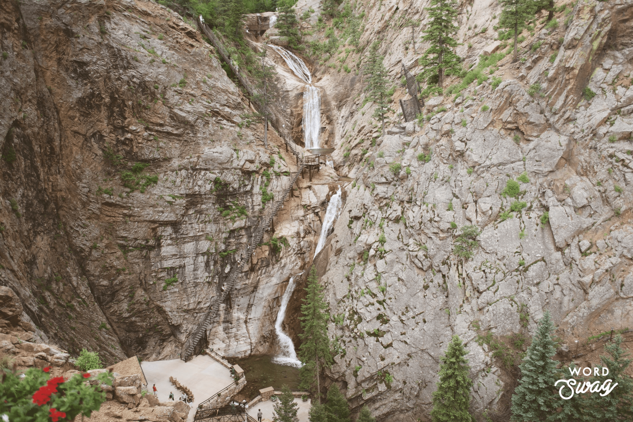 Seven Falls Hike in Colorado Springs