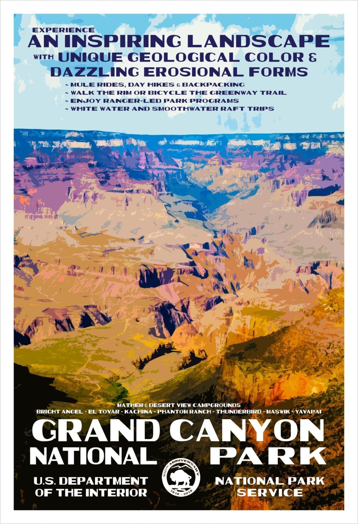 Rob Decker's Posters Grand Canyon