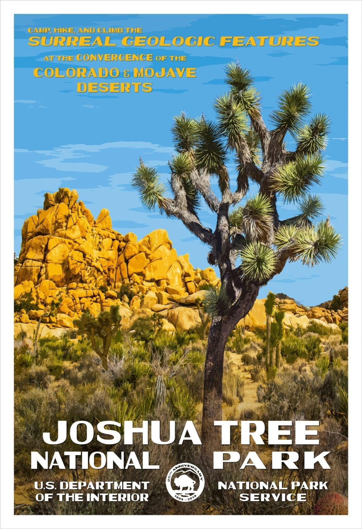 Rob Decker's Posters Joshua Tree