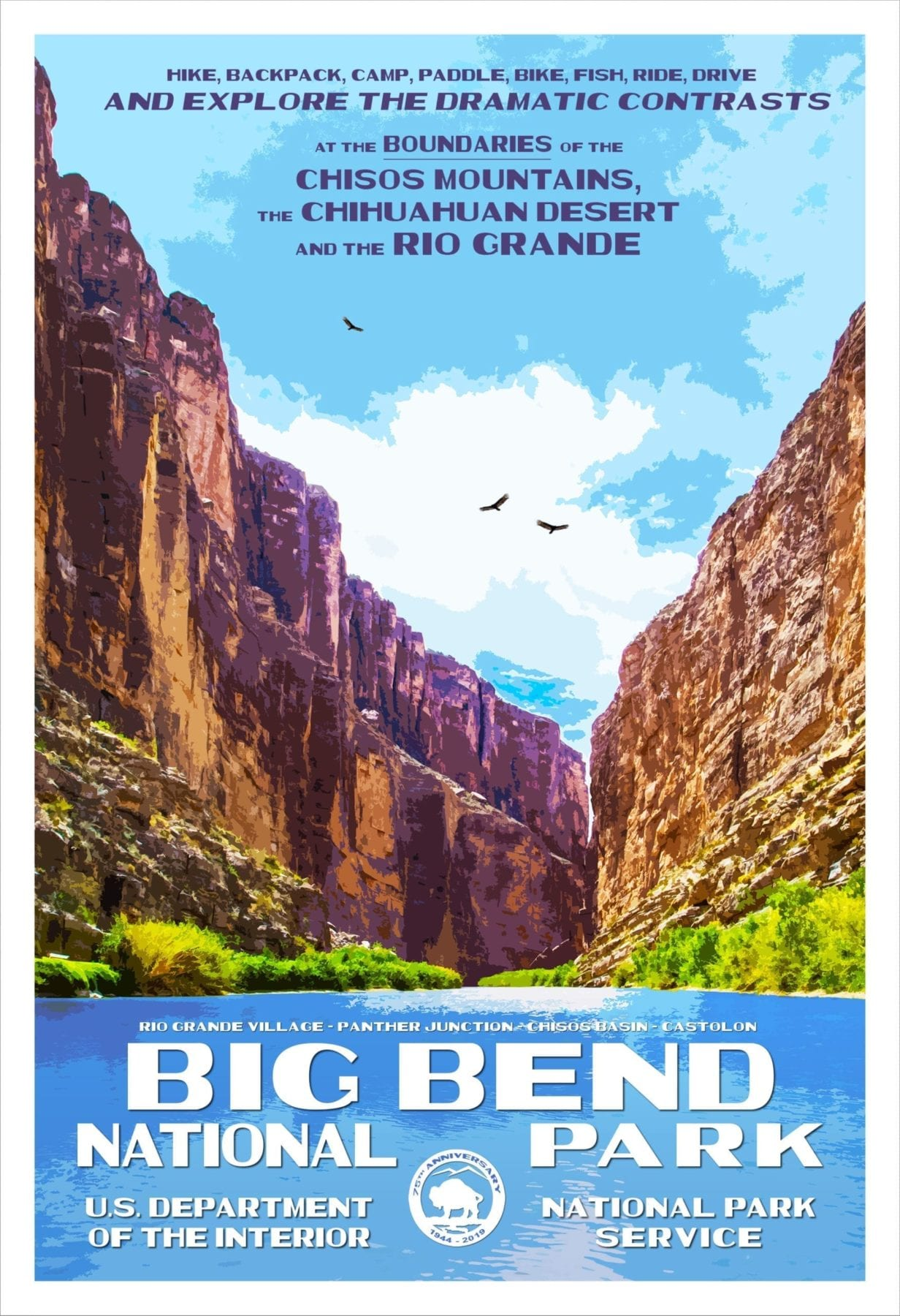 Rob Decker's Poster's Big Bend
