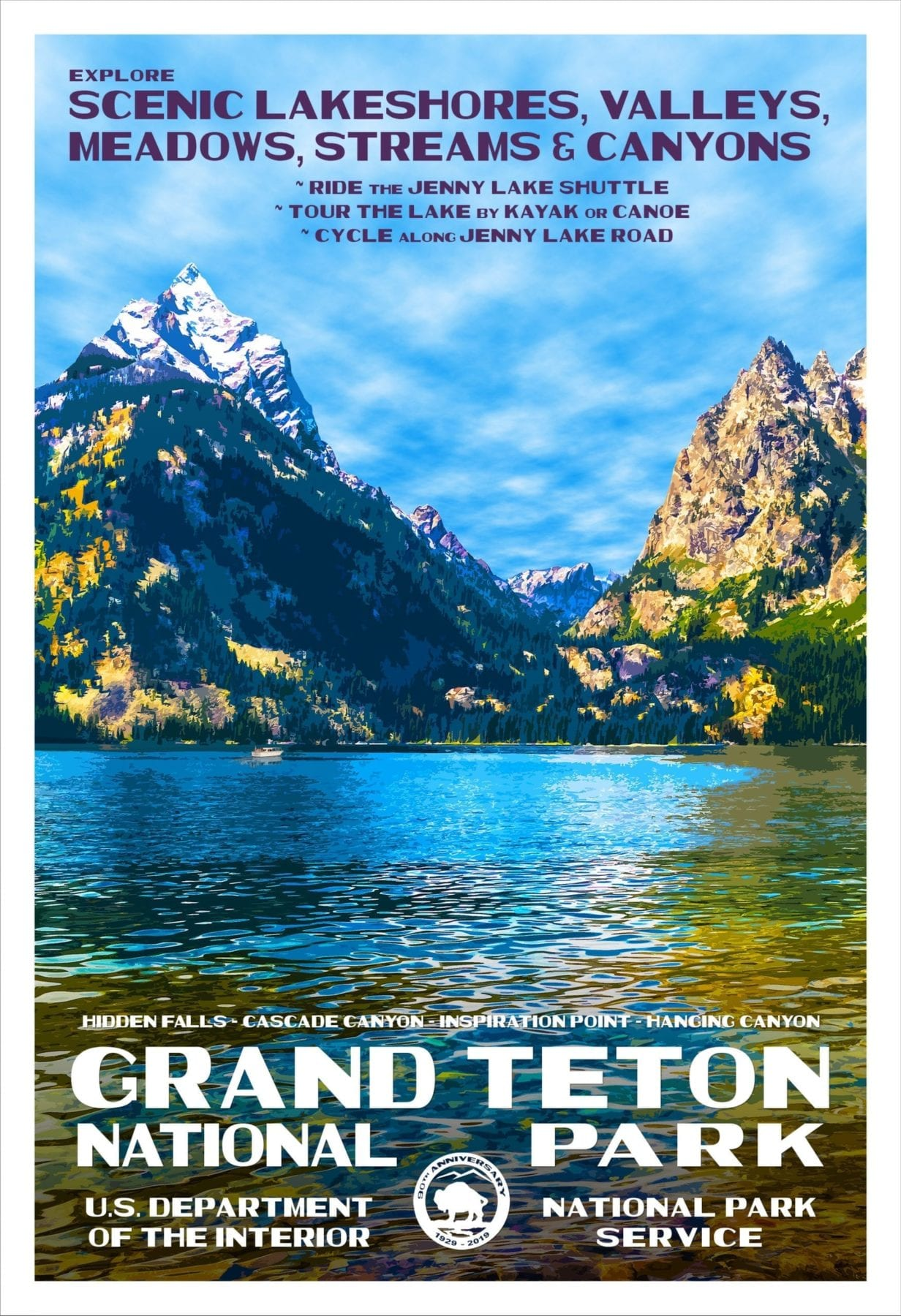 Rob Deckers Posters Grand Teton