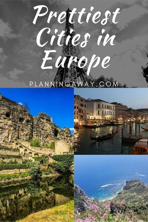 Prettiest Cities in Europe Pin for Pinterest