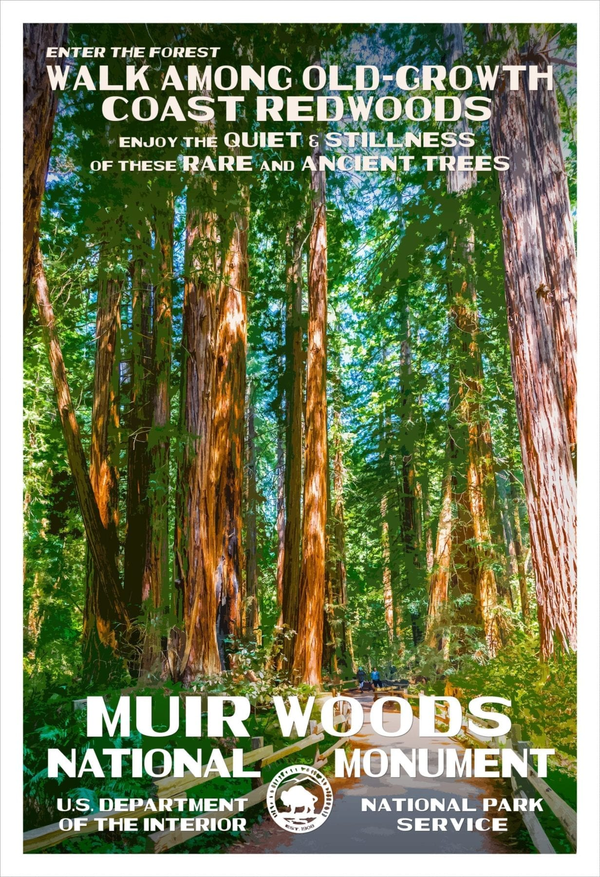 Rob Decker's Poster Muir Woods