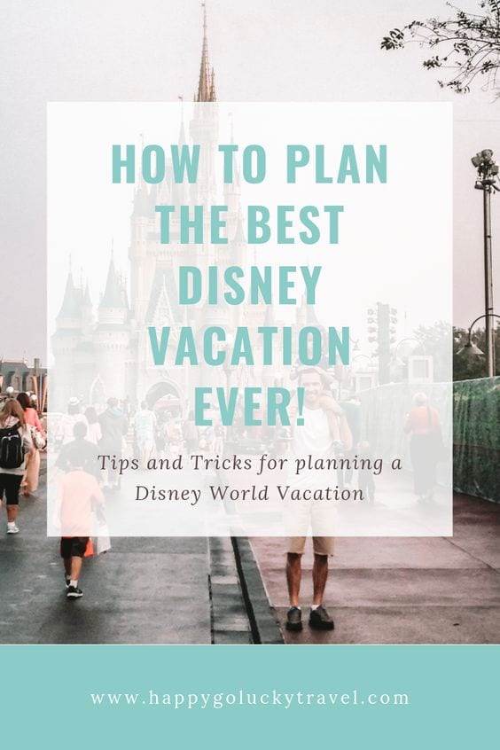 Plan a Disney Vacation