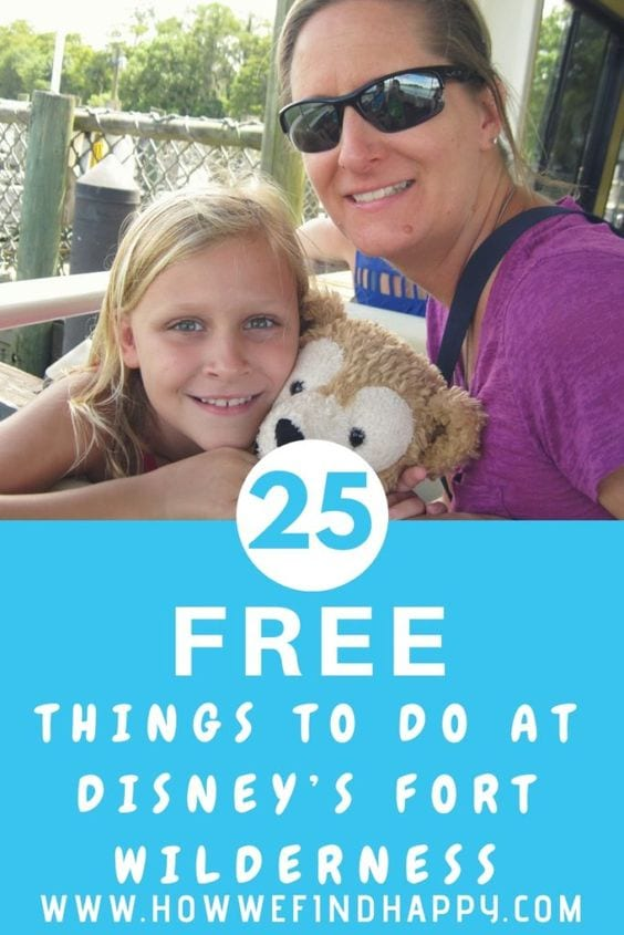 25 Free Things at Wilderness Lodge Disney World