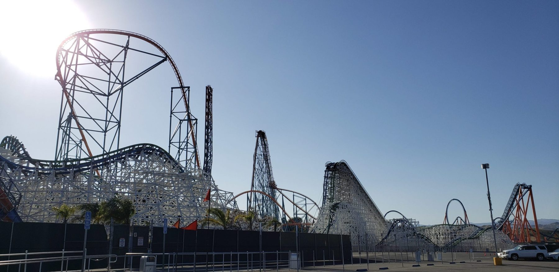 Best Theme Parks in America Six Flags Magic Mountain