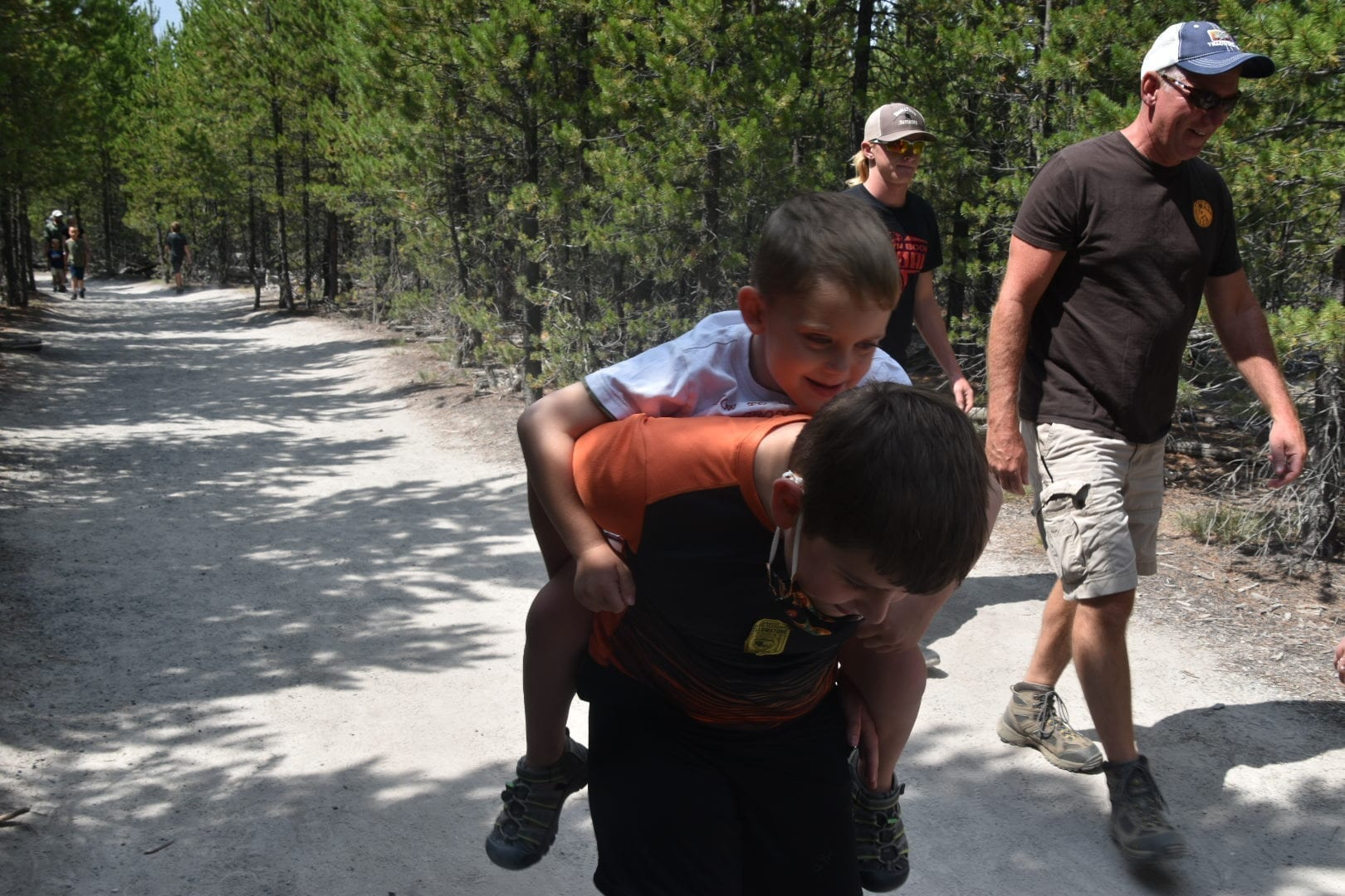 Hiking with Kids at Yellowstone