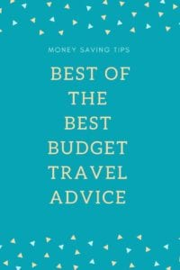 Budget Travel Advice