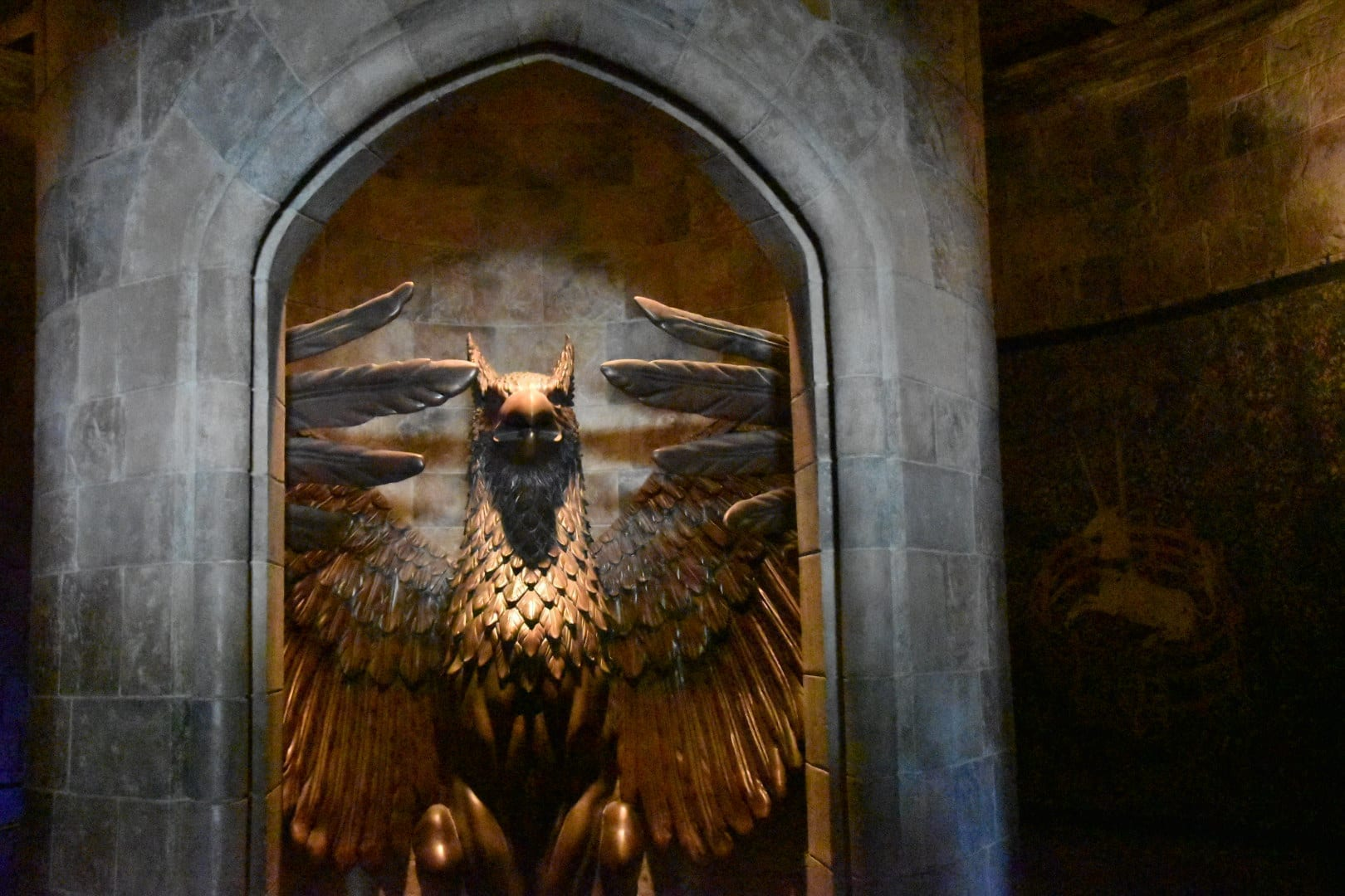 Forbidding Journey ride at Harry Potter World