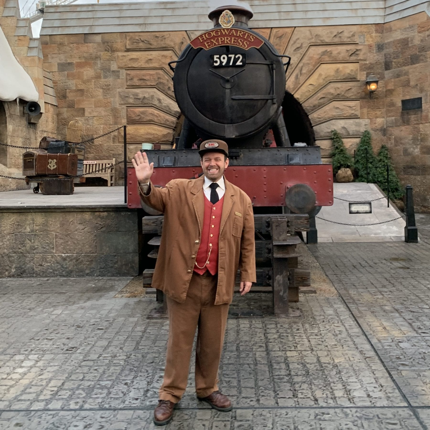 Hogwarts Express at Universal's Harry Potter World
