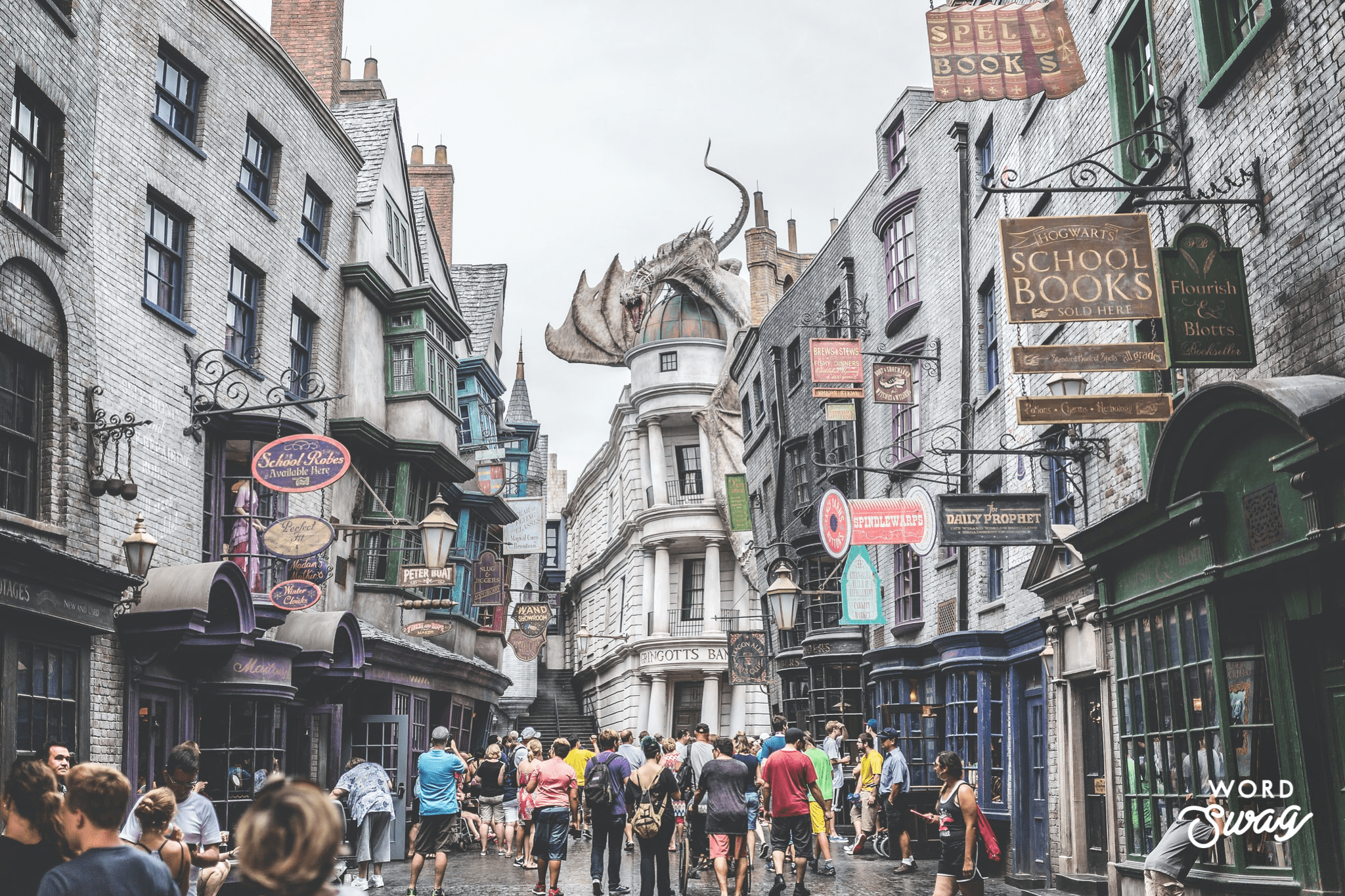 Diagon Alley Wizarding World of Harry Potter