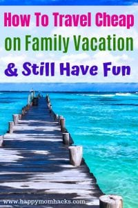 Family Vacation Money Saving Tips