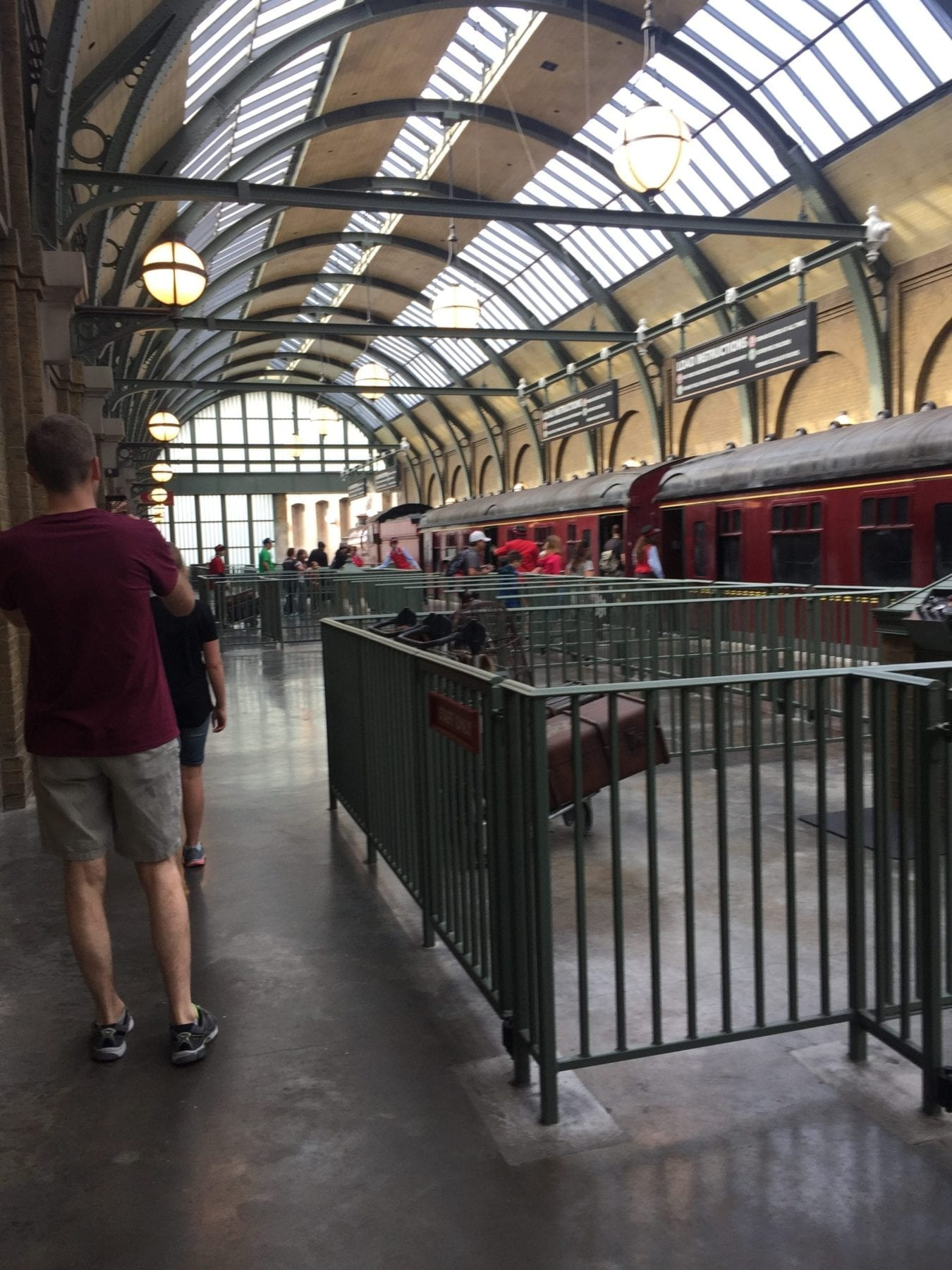 Hogwarts Express Harry Potter World