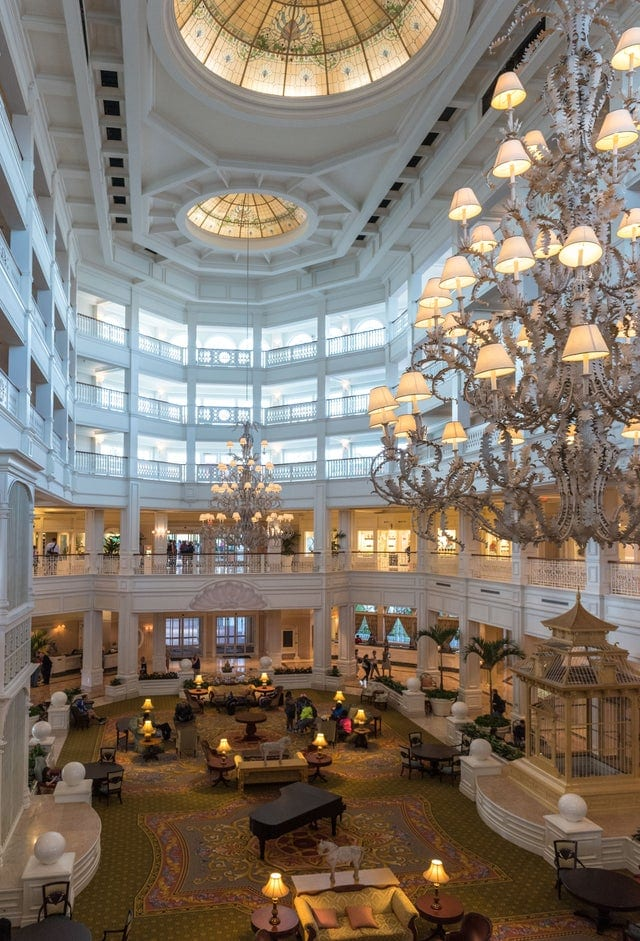 Lobby of Grand Floridian