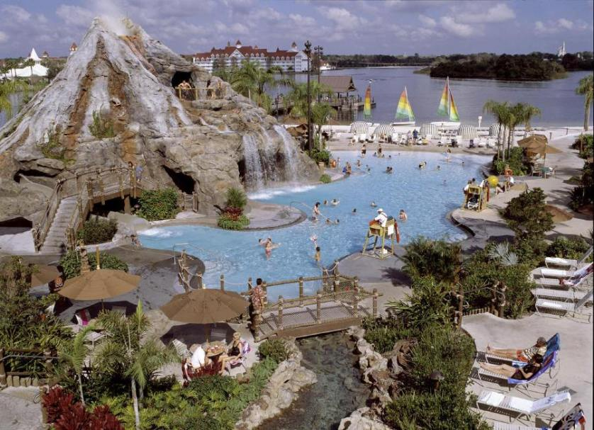 Polynesian Resort Pool