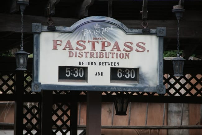 Fast Passs Entrance