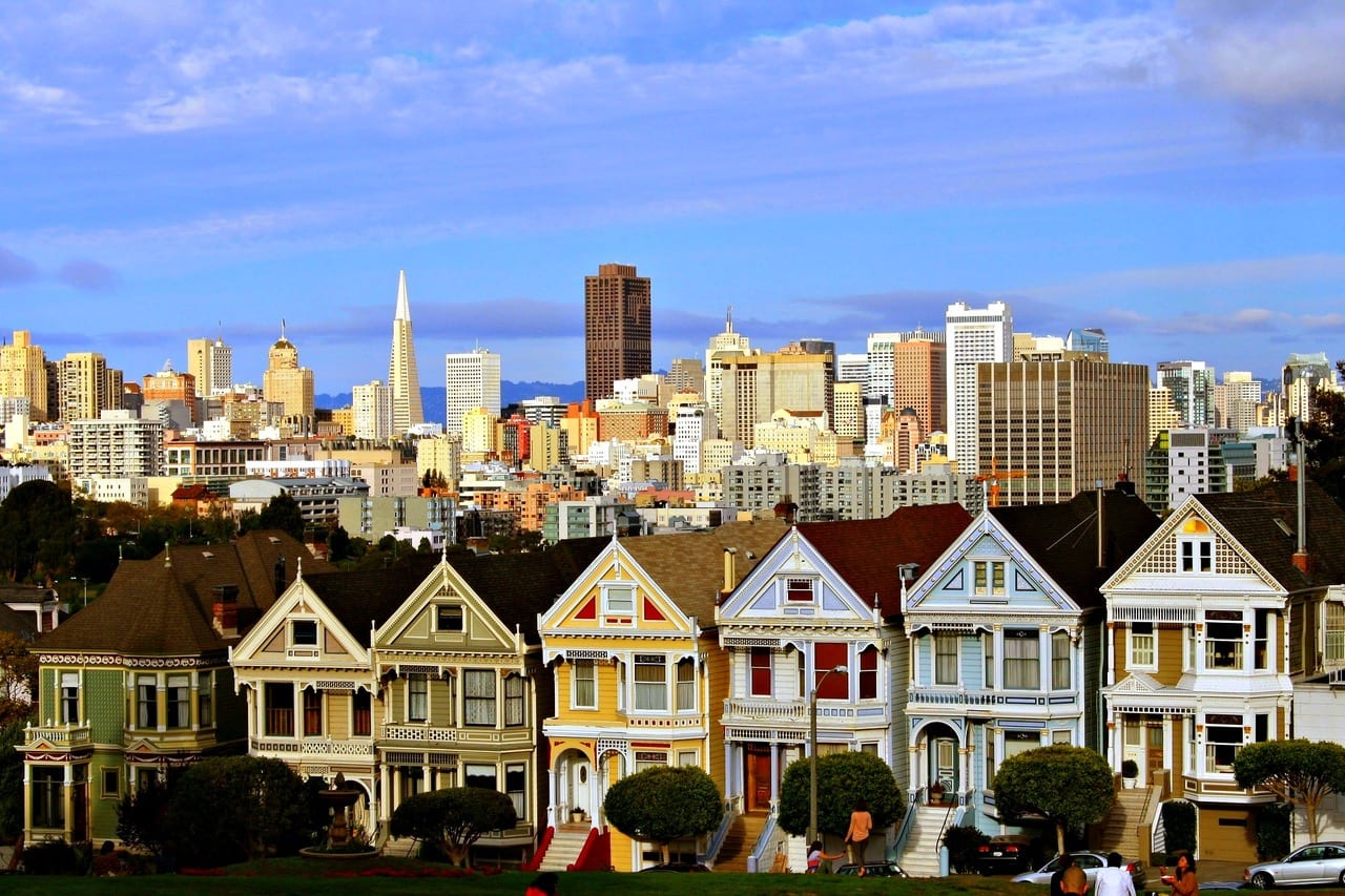 top things to do in San Francisco Painted Ladies
