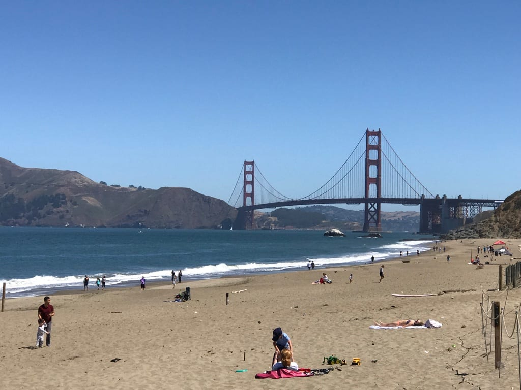 Things to do in San Francisco Baker Beach