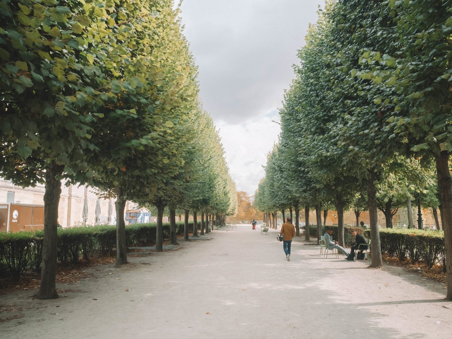 Tuileries Garden in Paris France