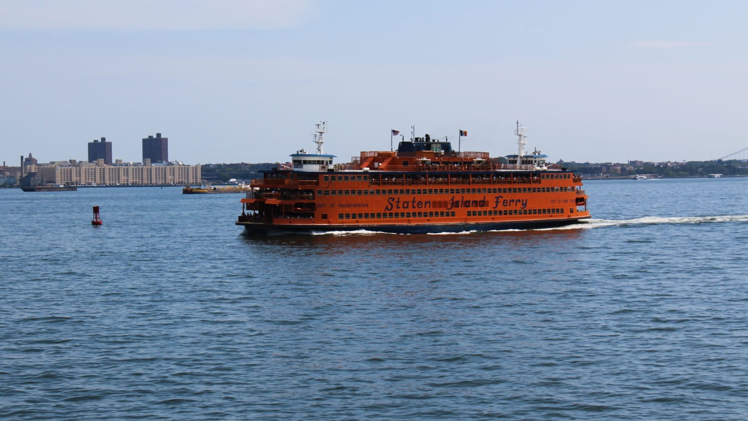 Top Things To Do In New York City- Staten Island Ferry