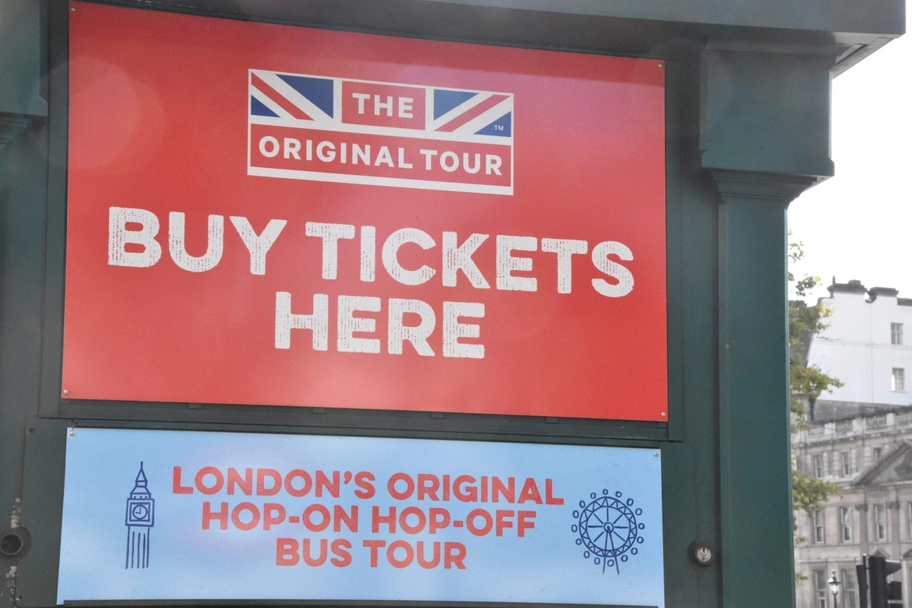 London Hop on Hop off Bus Tour