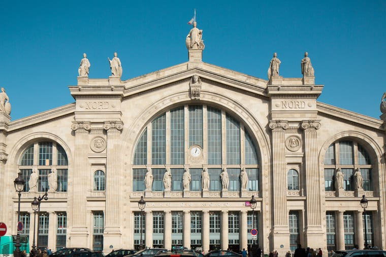 Gare de Nord Paris train station