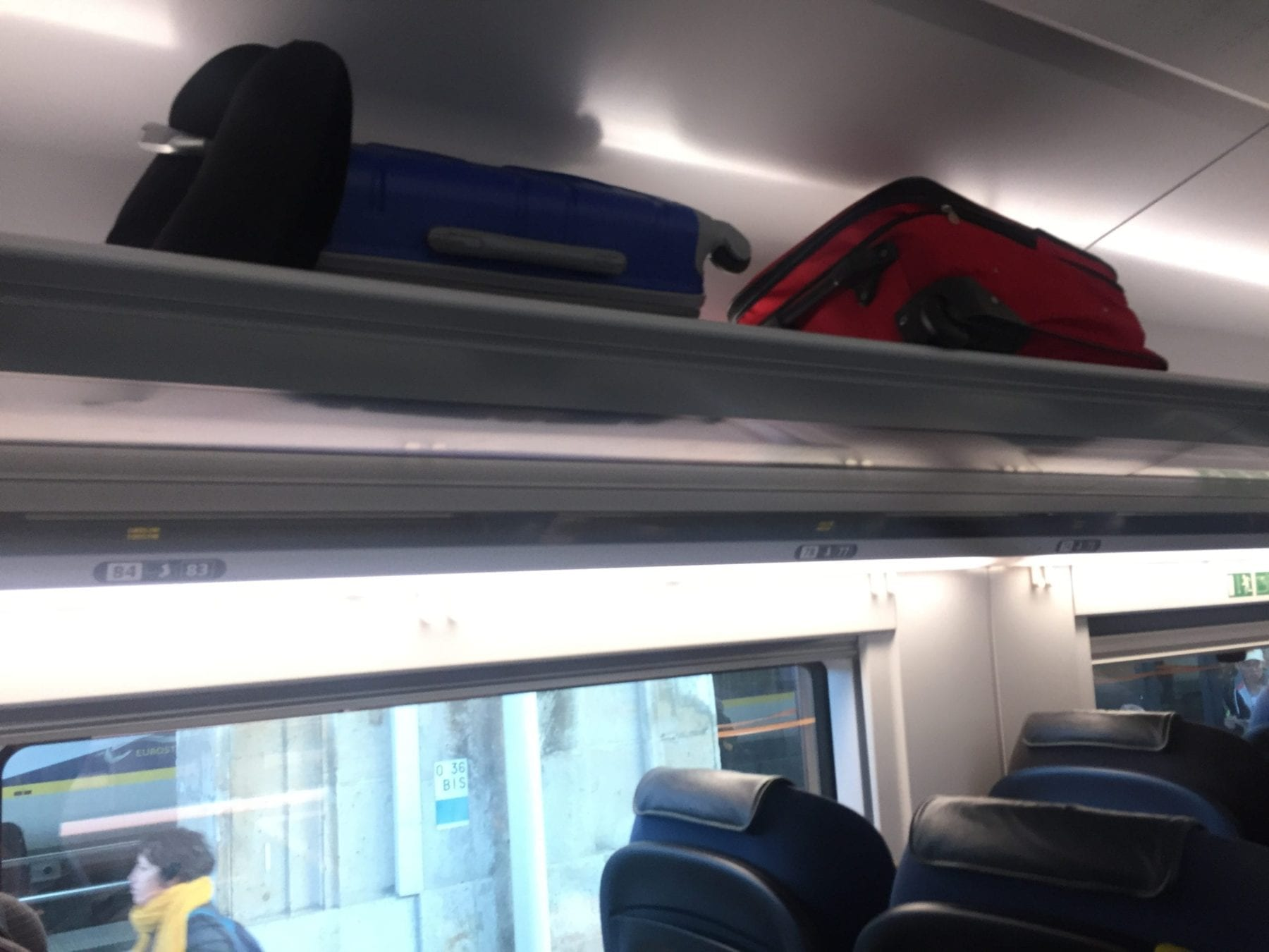 Baggage Space on Eurostar