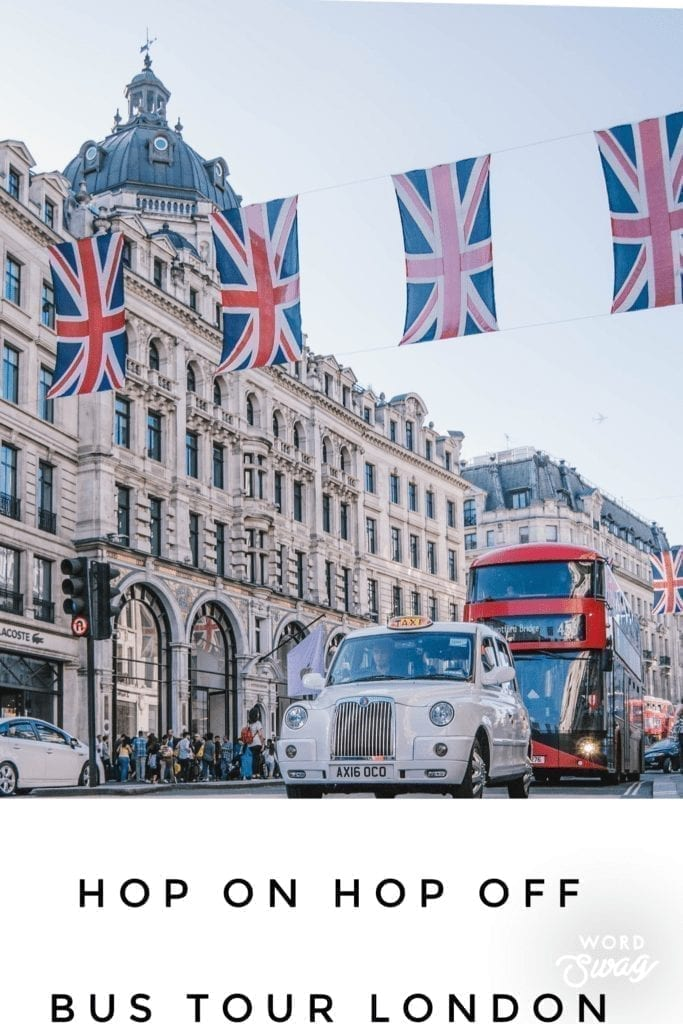 One Day in London Pin