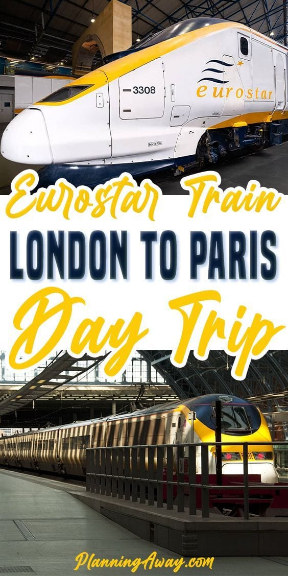 Eurostar London to Paris using the Chunnel