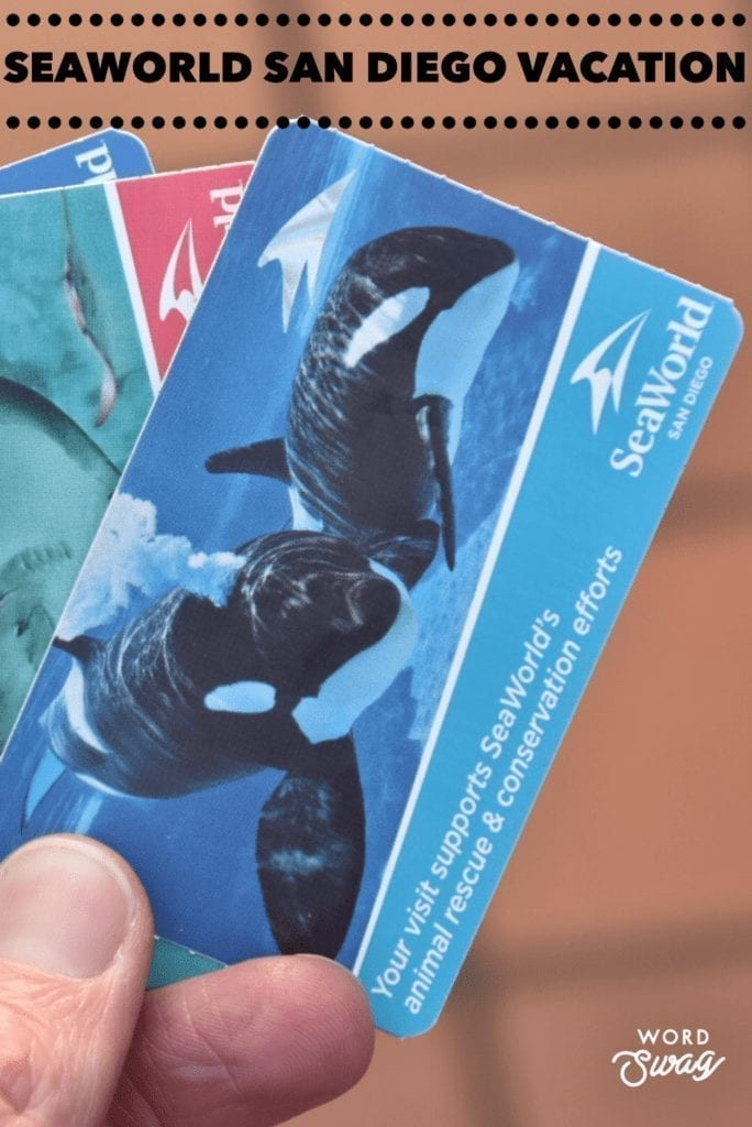 SeaWorld San Diego Pin for Pinterest