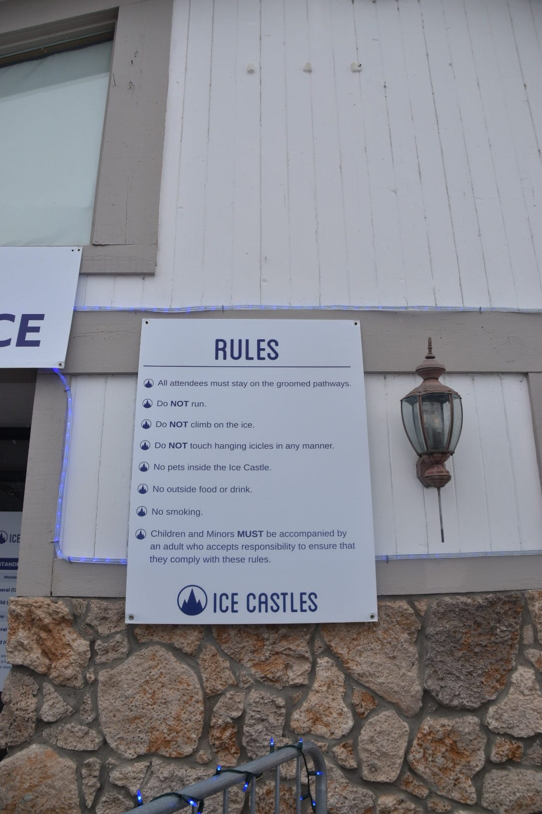 Rules for Ice Castle