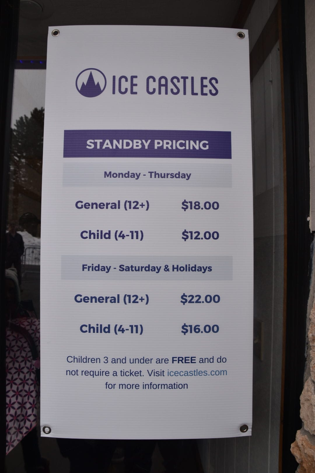 Ice Castle Tickets
