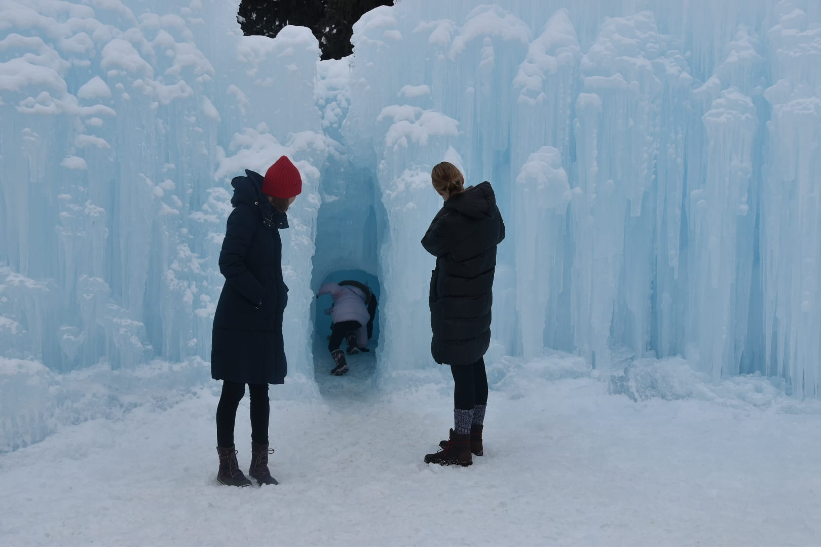 Things to do in Utah In Winter -Midway Ice Castle