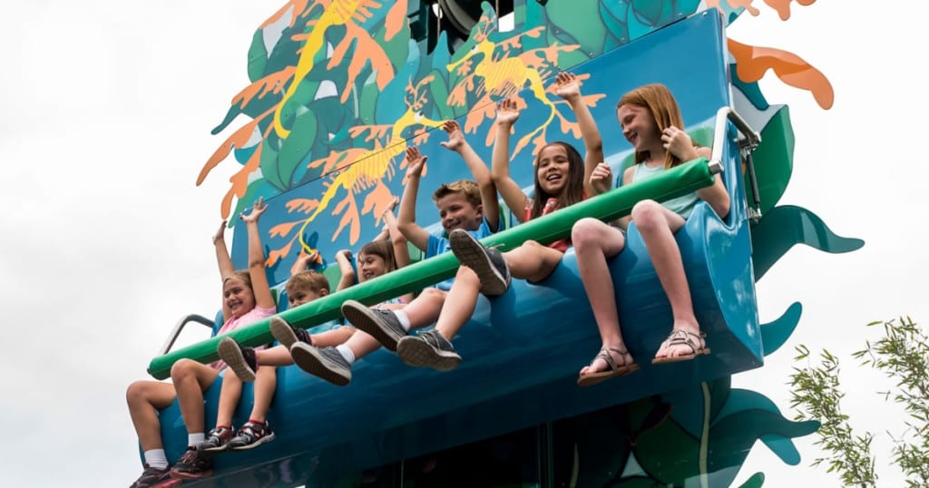 Sea Dragon Drop Seaworld