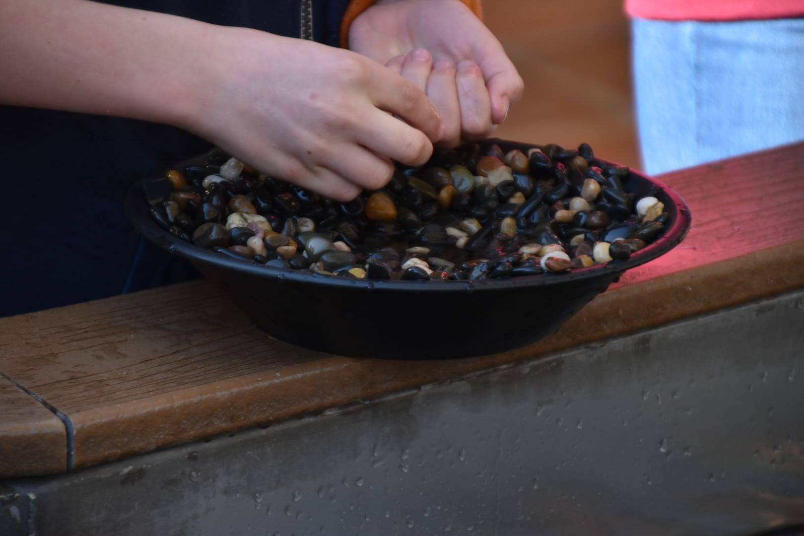 Gold Panning at the Mormon Battalion Museum