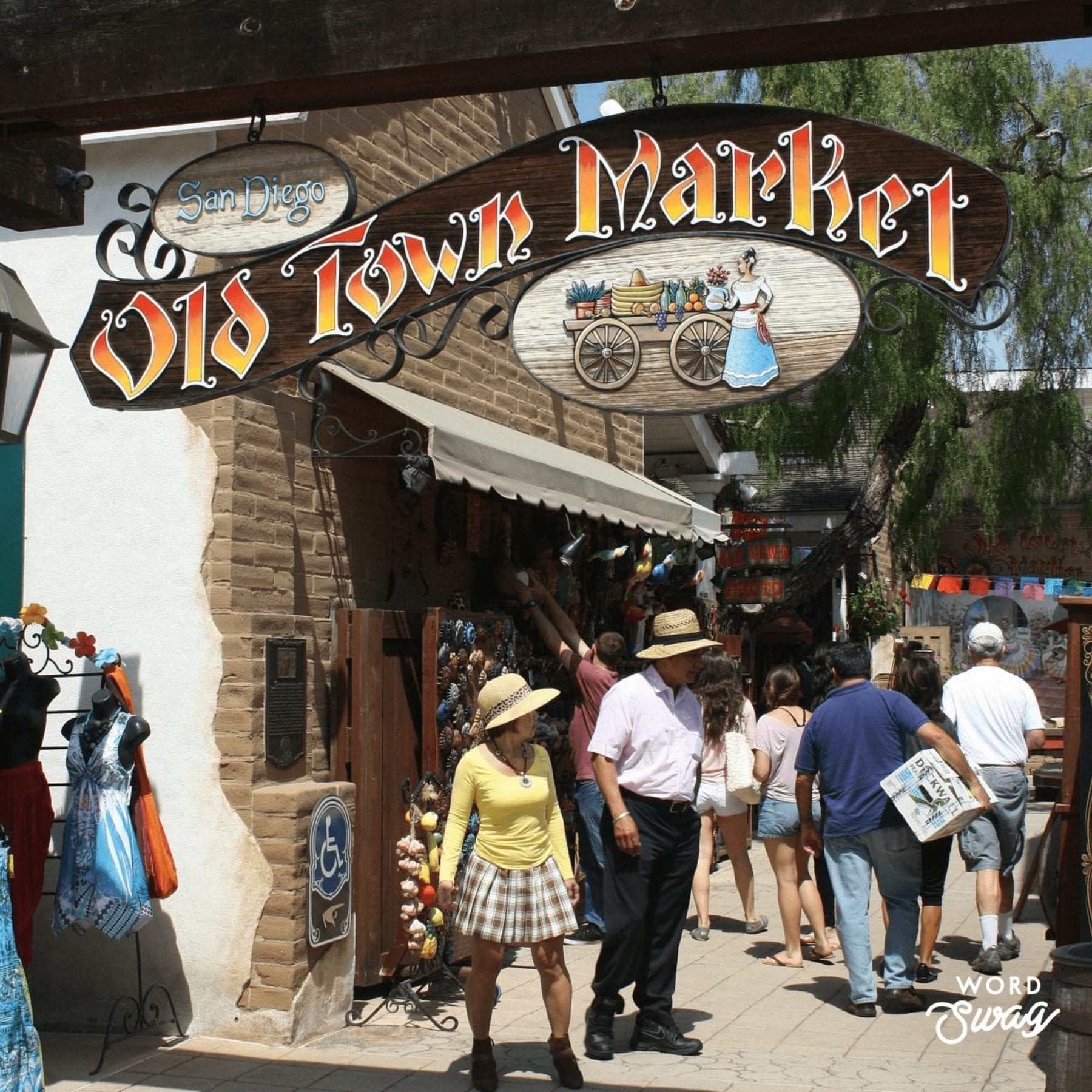 Old Town Market Shopping
