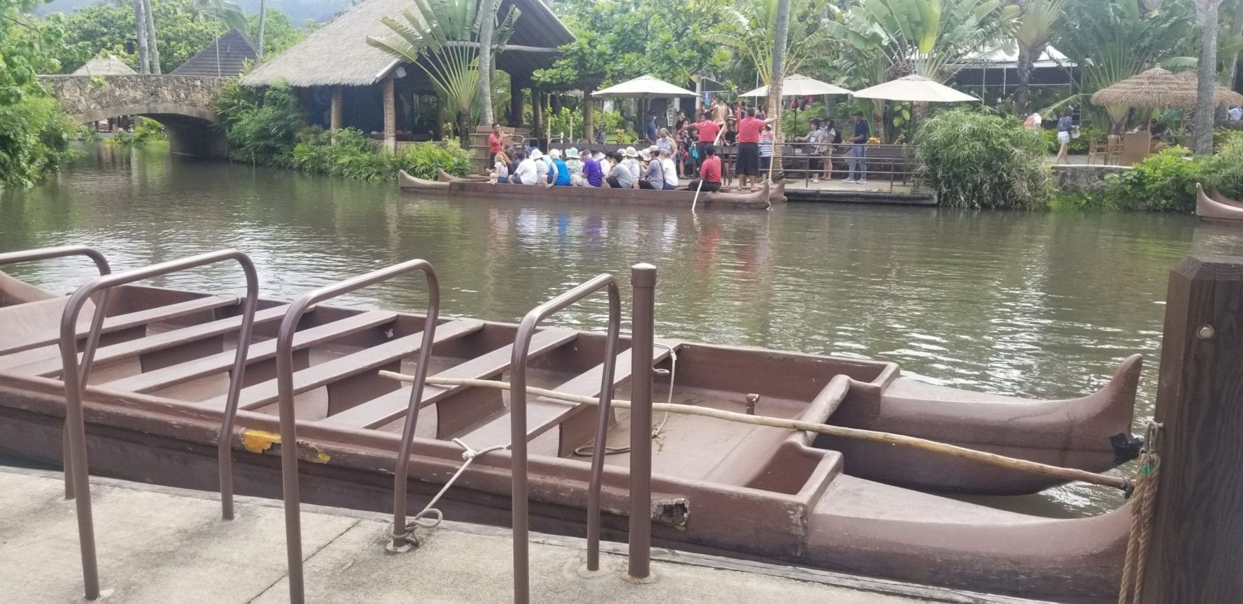 Canoe Tour at the Polynesian Culture Center