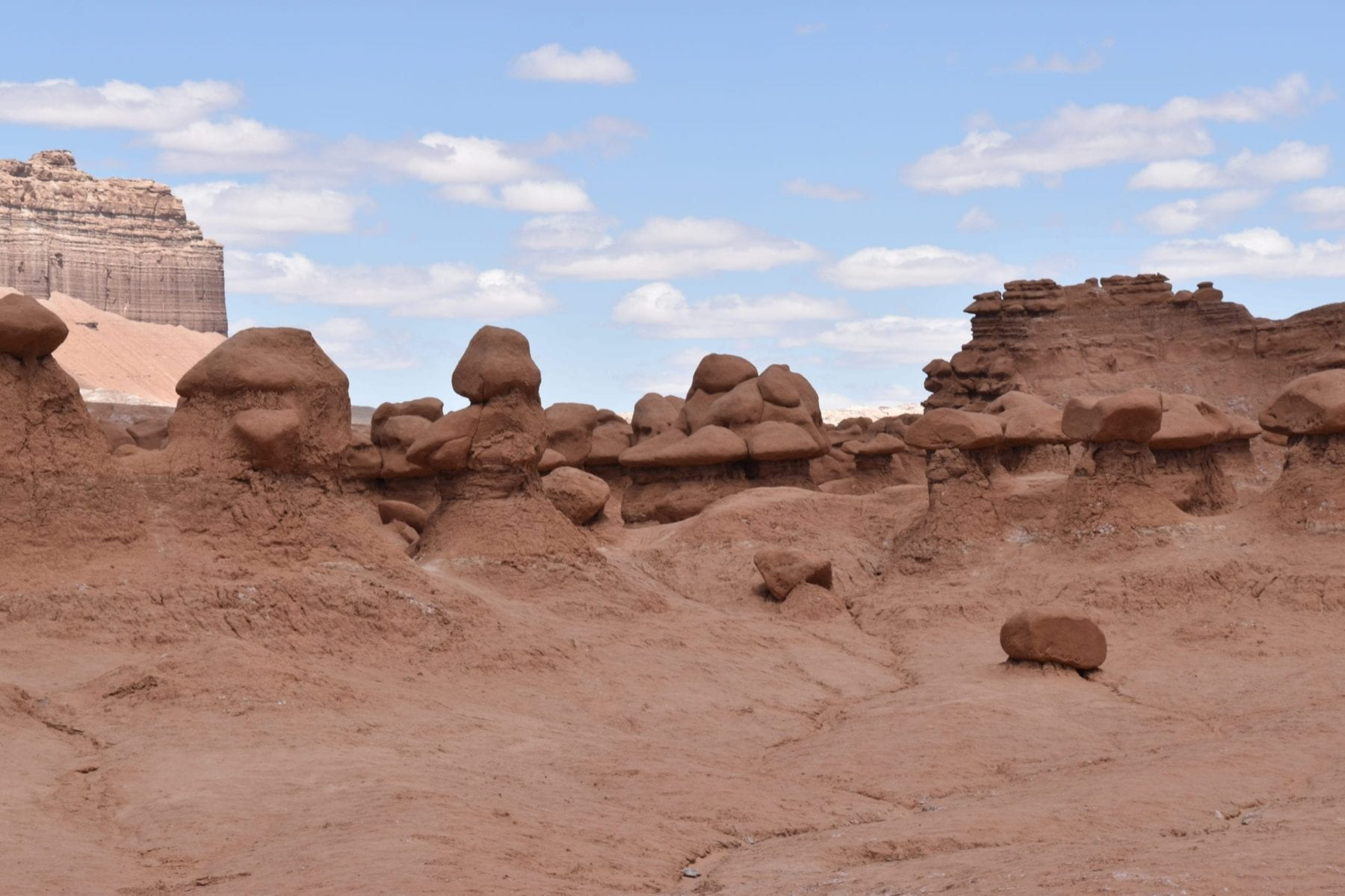 Hiking at Goblin Valley