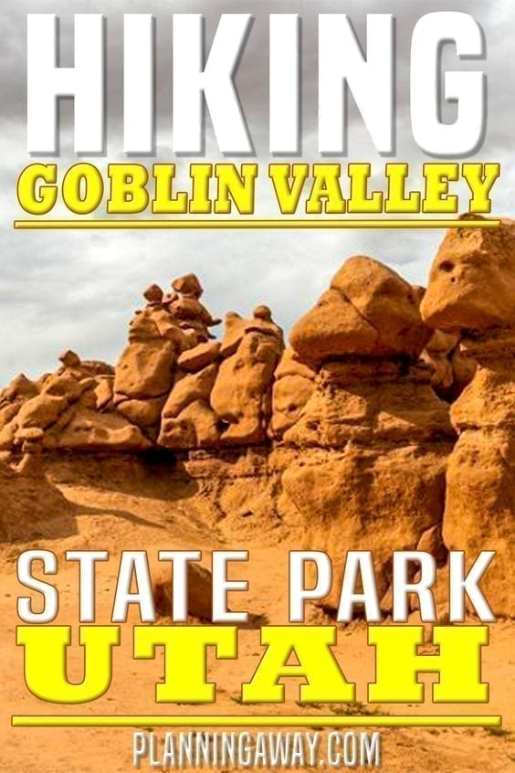 Hiking at Goblin Valley State Park - Utah
