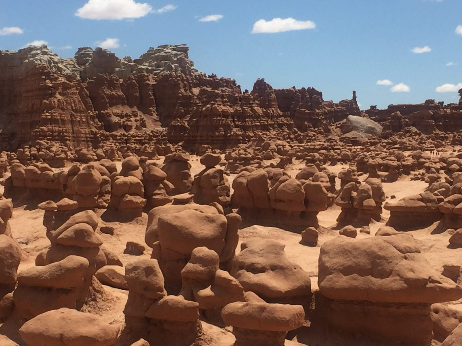 Road trip to Goblin Valley