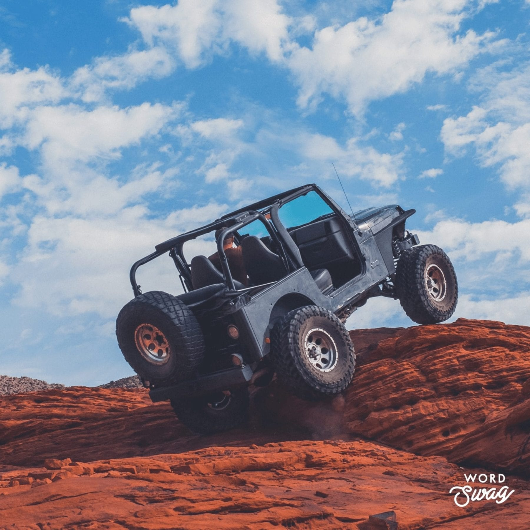 Jeep in Moab