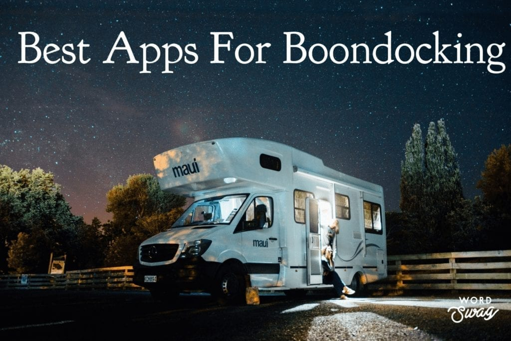 Apps for Boondocking